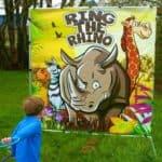 Ring the Rhino – Carnival Game Rental