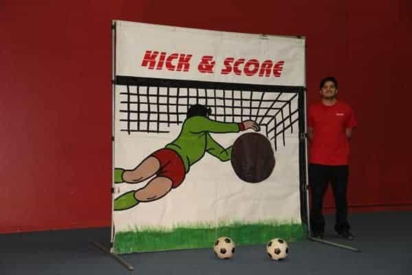 soccer frame game rental