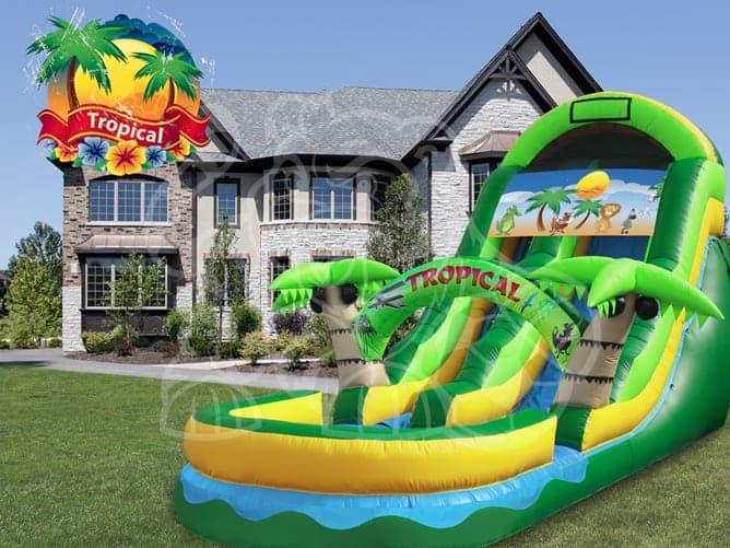 Tropical-Water-Slide-Rental