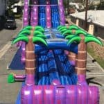 PURPLE CRUSH 27′ Tall – Dual Lane – Water Slide