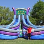 TWIN FALLS Dual Lane – Water Slide