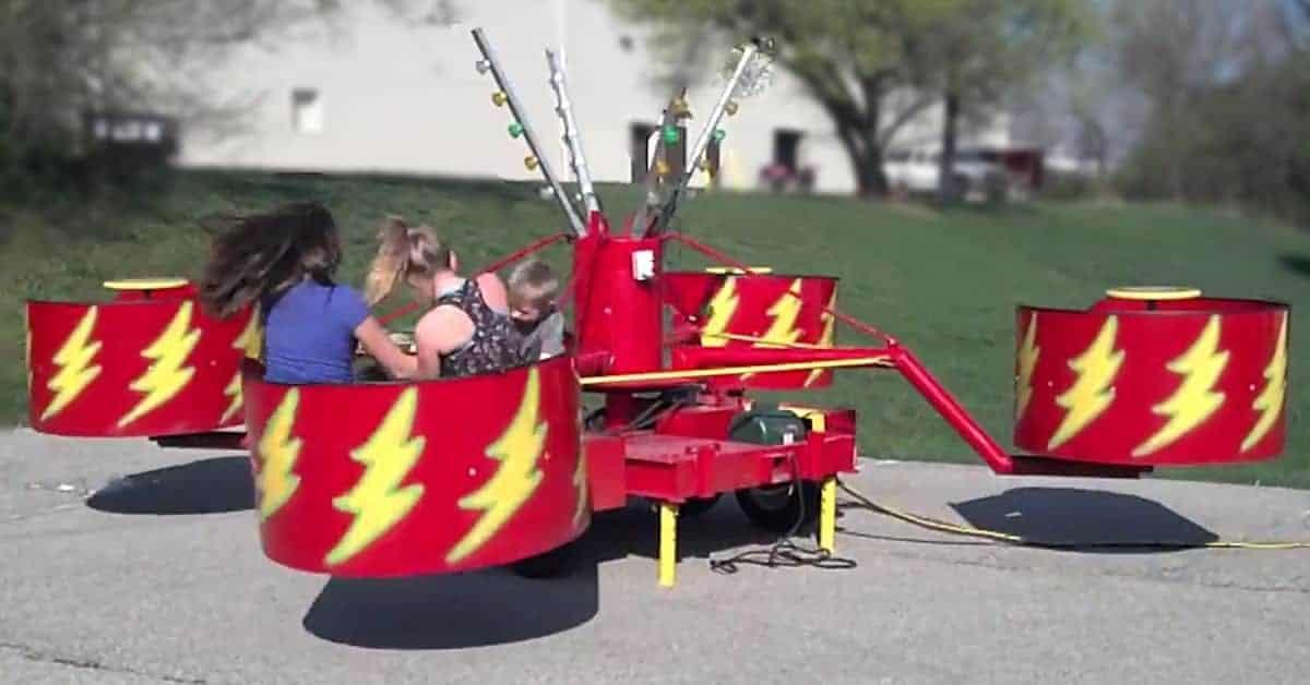 Tubs Of Fun Spinning Carnival Ride Rental