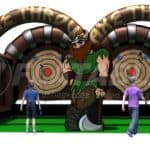 Axe Throwing Inflatable Rental pic1