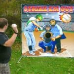 baseball toss carnival rental